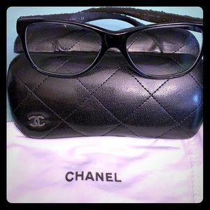 LTD EDITION - Authentic black CHANEL eyeglasses